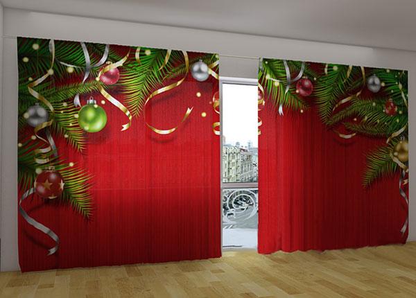 Полузатемняющая штора Christmas magic 360x230 cm ED-124664