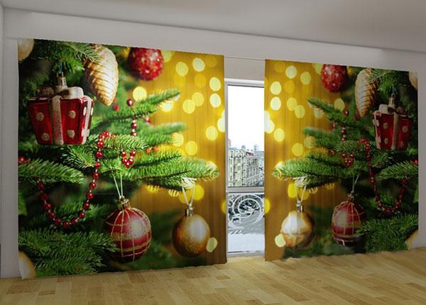 Полузатемняющая штора Christmas Toys 360x230 cm ED-124669