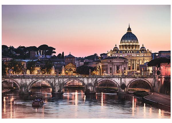 Стеклянная картина Rome 120x80 cm QA-124757