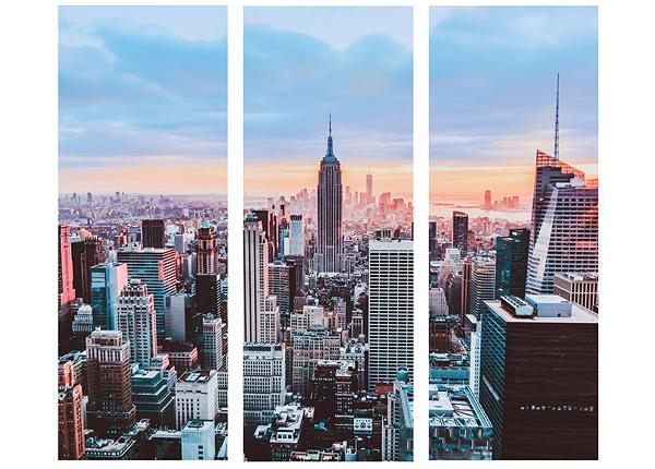 Стеклянная картина New York 90x80 cm QA-124759