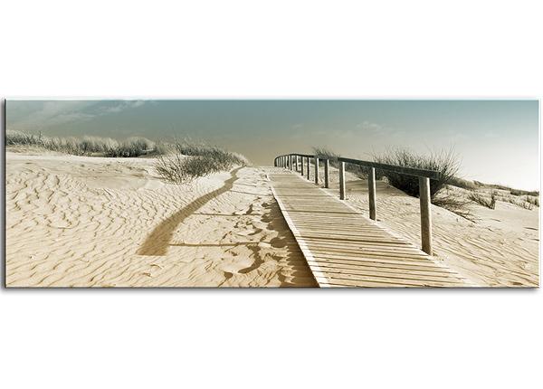 Стеклянная картина Harmony Dunes 125x50 cm QA-124762