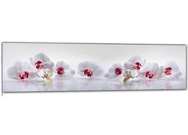 Стеклянная картина Orchid 115x30 cm QA-124765