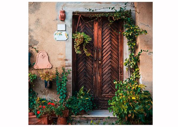 Стеклянная картина Italy Door 30x30 cm QA-124767
