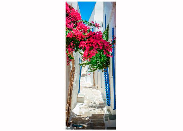 Стеклянная картина Greece 30x80 cm QA-124769