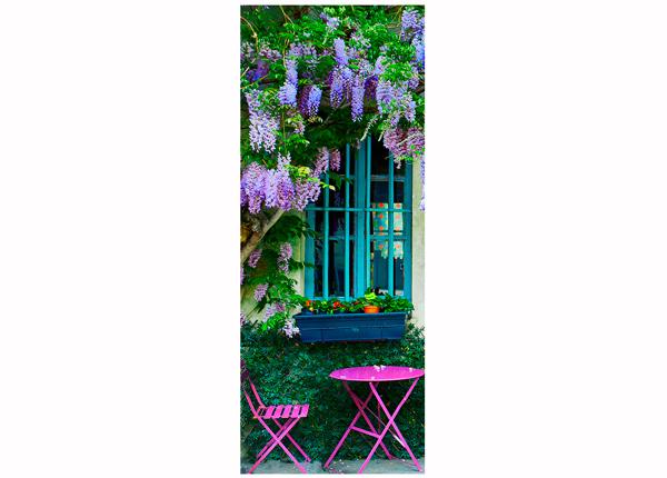 Стеклянная картина France Cafe 30x80 cm QA-124770