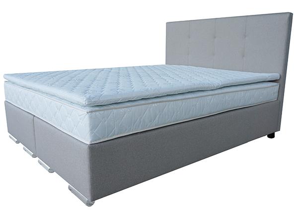 Комплект кровати Continental Bonnel + наматрасник PPU 160x200 cm MT-124843