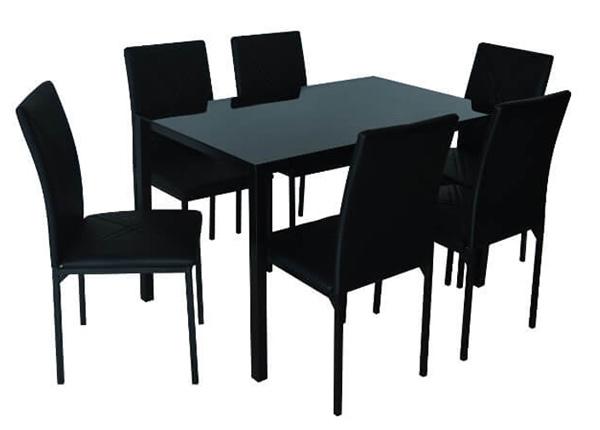 Обеденный стол + 6 стульев Tenerife AQ-124886