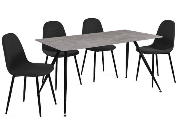 Обеденный стол + 4 стула La Comera AQ-124887