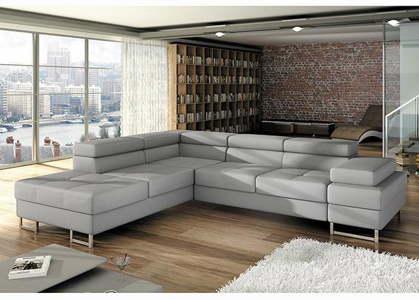 Угловой диван-кровать с ящиком TF-125094
