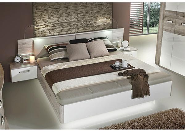 Кровать 160x200 cm + 2 прикроватные тумбы TF-125108