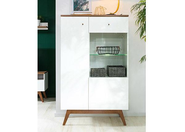 Шкаф-витрина TF-125155