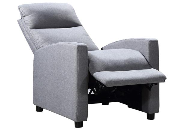 Кресло с механизмом подножки Alex Recliner TS-125290