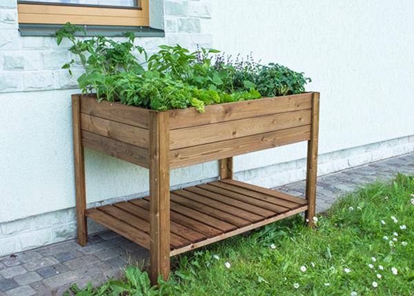 Ящик для растений на ножках 80x120 см, 6 секторов