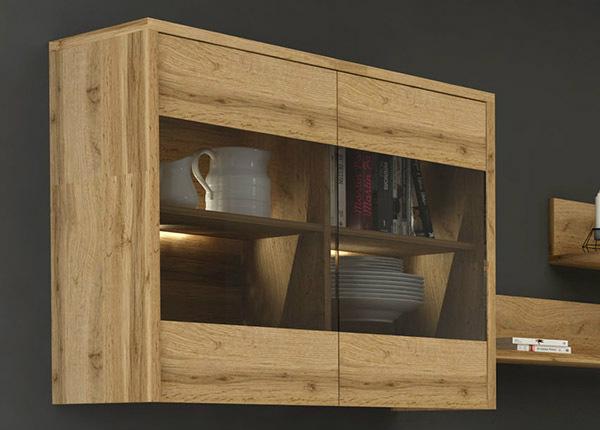 Навесной шкаф-витрина TF-125411