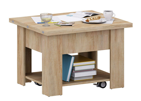 Регулируемый журнальный стол 75-150x65 cm