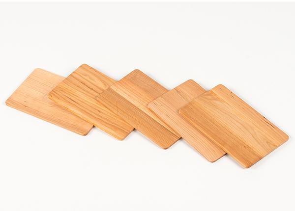 Деревянные сервировочные подносы 5 шт CL-125544