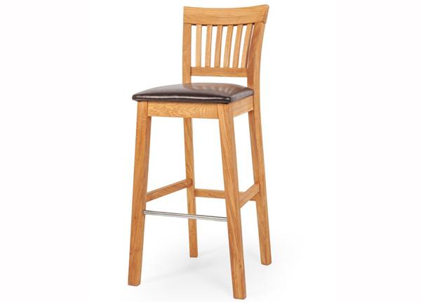 Барный стул из массива дуба EC-125612