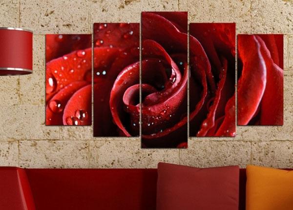 Картина из 5-частей Rose Motif 100x60 cm ED-125835