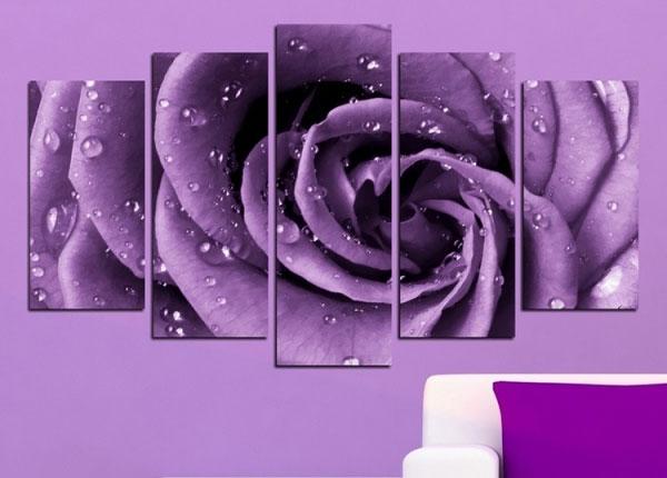 Картина из 5-частей Rose Motif 100x60 cm ED-125836