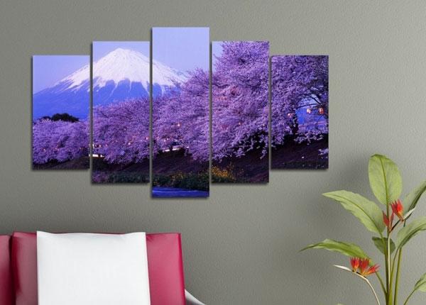 Картина из 5-частей Tree 2, 100x60 cm ED-125837