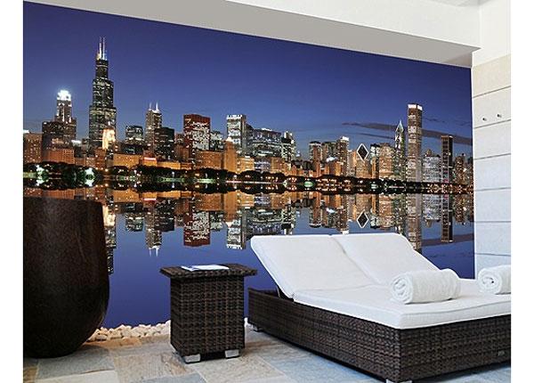 Самолкеющиеся фотообои Chicago Reflection 270x360 cm ED-125961