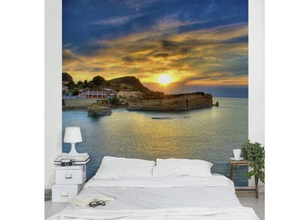Флизелиновые фотообои Sunset over Corfu 240x240 cm ED-125962