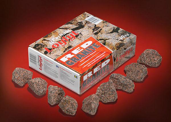 Камень для бани красный 10 кг RH-126247