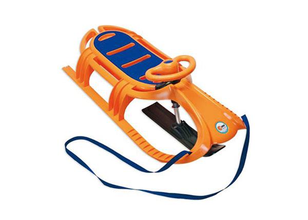 Санки оранжевые Snow Tiger de Luxe