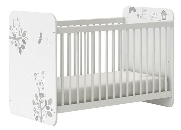 Детская кроватка Bear 60x120 cm CM-126887