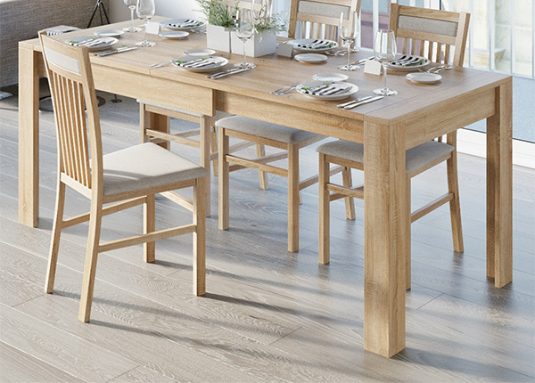 Удлиняющийся обеденный стол 80x120-190 cm TF-127453