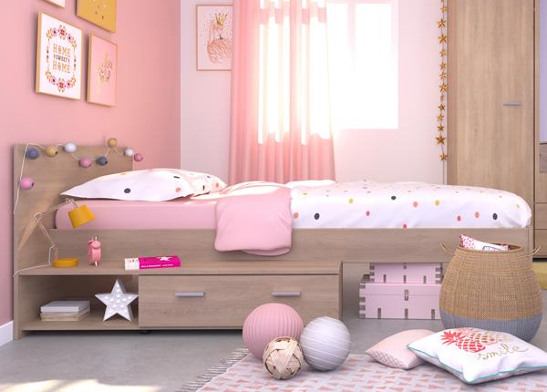 Кровать с ящиком Galaxy 90x200 cm MA-127564