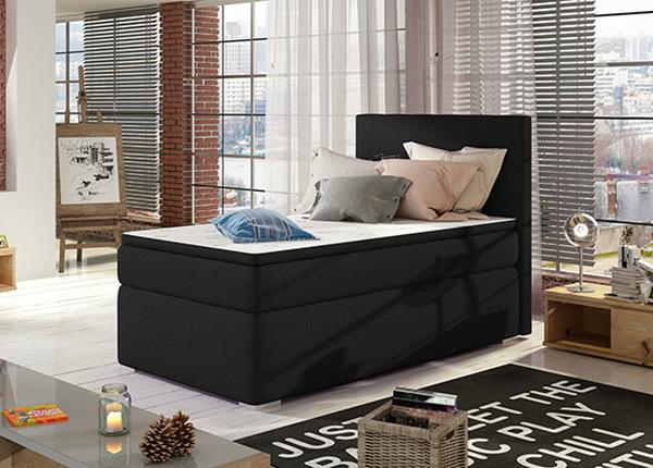 Континентальная кровать с ящиком 90x200 cm