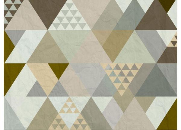 Флизелиновые фотообои Triangles 360x270 cm ED-128159