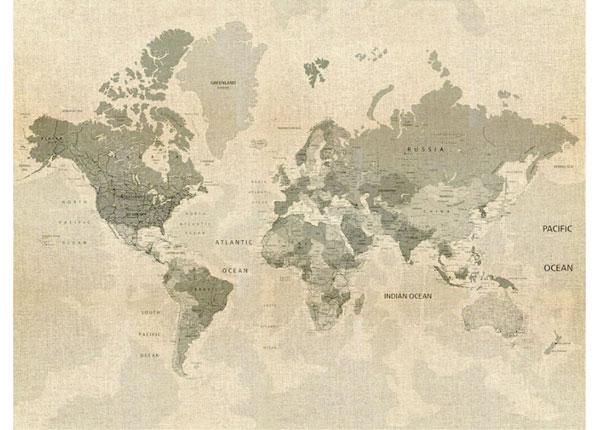 Флизелиновые фотообои Map 360x270 cm ED-128177