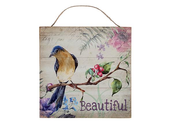 Деревянная картина Beautiful 30x30 cm EV-128189