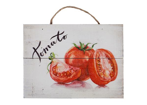 Деревянная картина Tomato 15x20 cm EV-128199