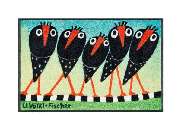 Ковер Schräge Vögel 50x75 cm A5-128253