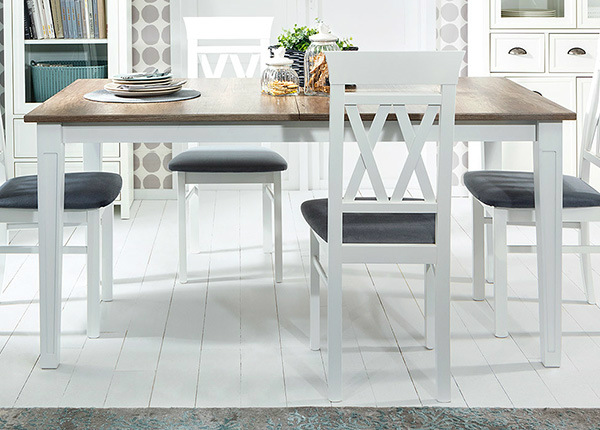 Удлиняющийся обеденный стол 90x160-200 cm TF-128428