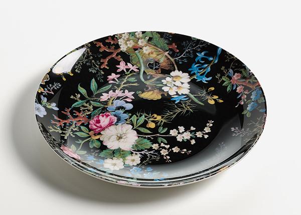 Тарелка Midnight blossom Ø 20 cm AS-128501