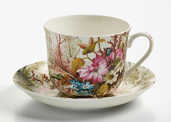 Чашка с блюдцем Ocean fantasy 500 ml AS-128508
