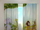 Просвечивающая штора Funny animals 240x220 cm ED-128617