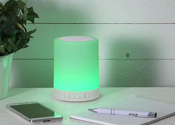 Колонка + LED лампа с сенсорным экраном AA-128741