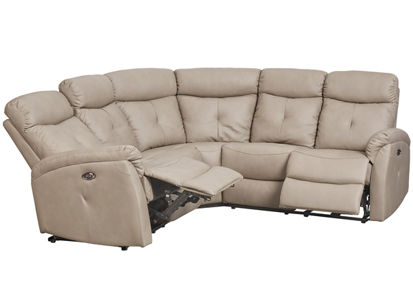 Recliner угловой диван с механизмом подножки Lotus TS-129027