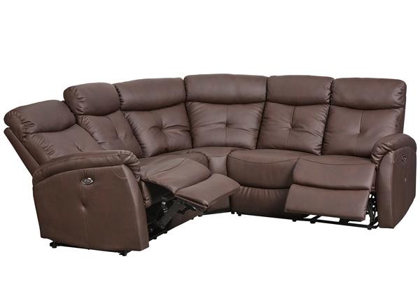Recliner угловой диван с механизмом подножки Lotus TS-129028