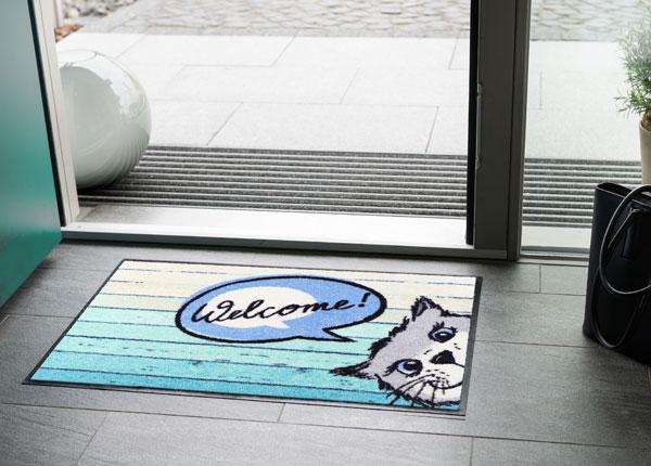 Входной коврик Welcome Cat 50x75 cm