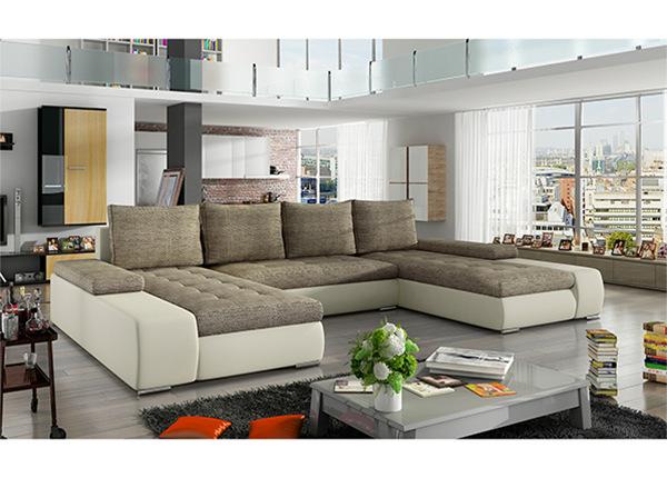 Угловой диван-кровать с ящиком TF-129990