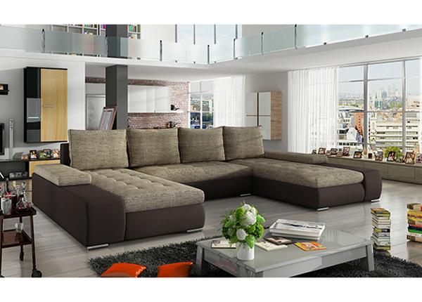 Угловой диван-кровать с ящиком TF-129992