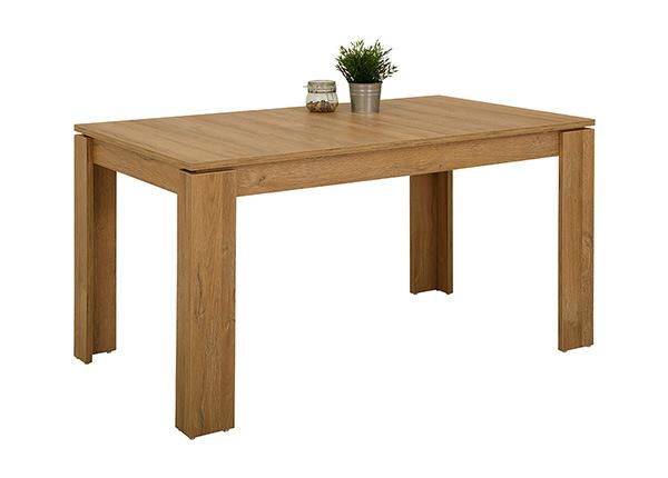 Удлиняющийся обеденный стол Alexa I 80x140-180 cm SM-130103
