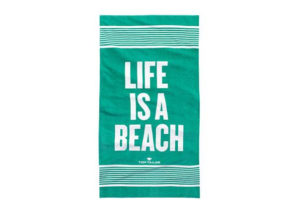 Пляжное полотенце Tom Tailor, Life is a beach 85x160 cm AÄ-130248