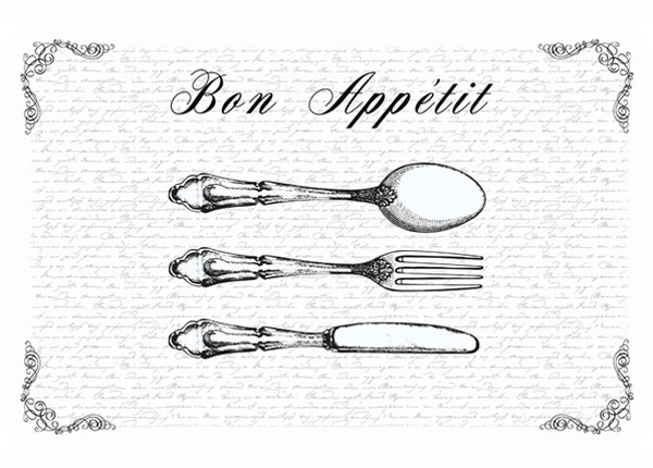 Коврик для стола Bon Appetit 4 шт AÄ-130359